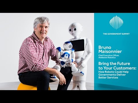 Bring the Future to Your Customers : How Robots Could Help Governments Deliver  Better  Services