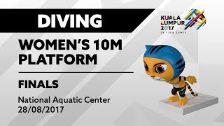 KL2017 29th SEA Games | Diving - Women's 10m Platform FINALS | 28/08/2017