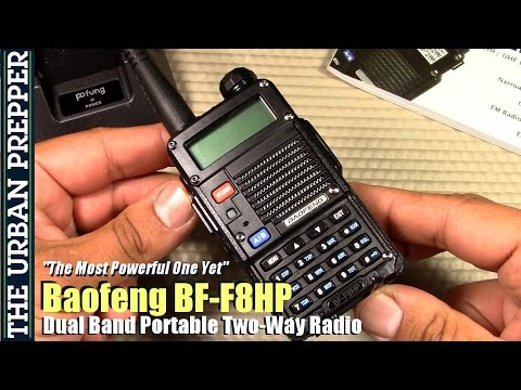 Baofeng BF-F8HP Radio Review by TheUrbanPrepper