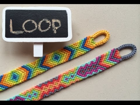 DIY Easy beginning LOOP for friendship bracelets  handmade crafts  Creative Twins