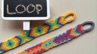 Easy beginning LOOP for friendship bracelets