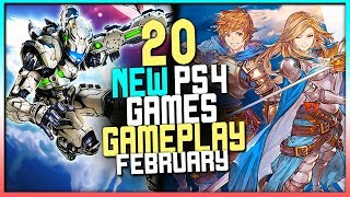 20 NEW Upcoming PS4 Games FEBRUARY 2020 Gameplay - New PlayStation 4 Games 2020