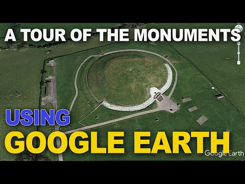 A tour of the Boyne Valley ancient sites in Google Earth
