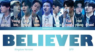 SF9 (에스에프나인) - |Believer| (숨) (Kingdom Version) [Color Coded…