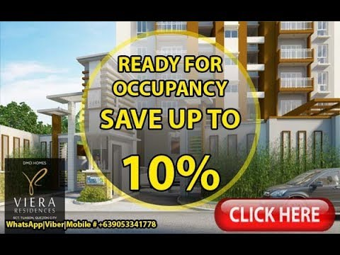 Viera Residences Condo For Sale in Quezon City Near Tomas Morato DMCI Homes