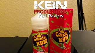 KBN Productions | Candy King | Strawberry watermelon | Ejuice | Review