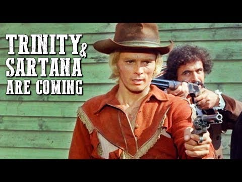 Trinity And Sartana Are Coming | WESTERN FOR FREE | Cowboy Movie | Full Length
