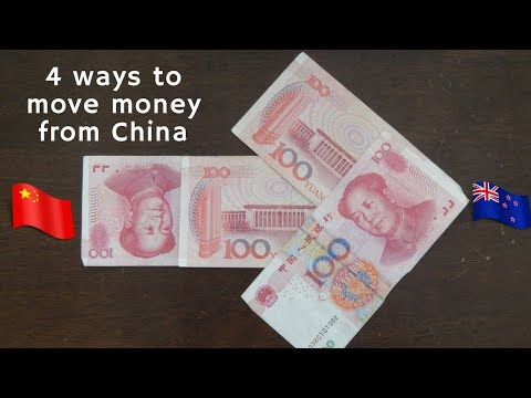 Sending money out of China
