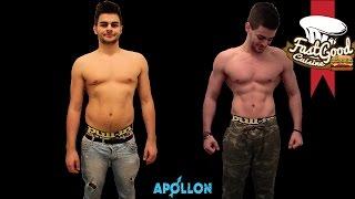 Mon évolution Apollon, Du gras aux Muscles(Premier jour du Calendrier de l'avent avec la chaîne Bodytime : https://www.youtube.com/user/bodytimeXpress On retrouve aujourd'hui une vidéo spéciale ..., 2014-12-01T17:00:14.000Z)