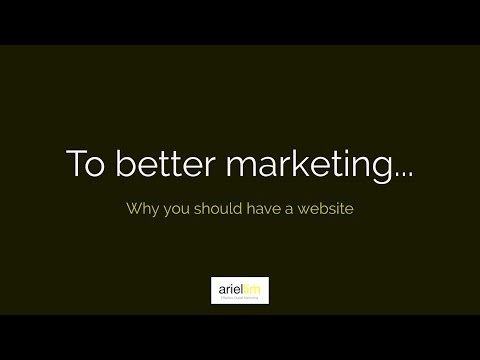 1MMV 002 - Why You Should Have a Website
