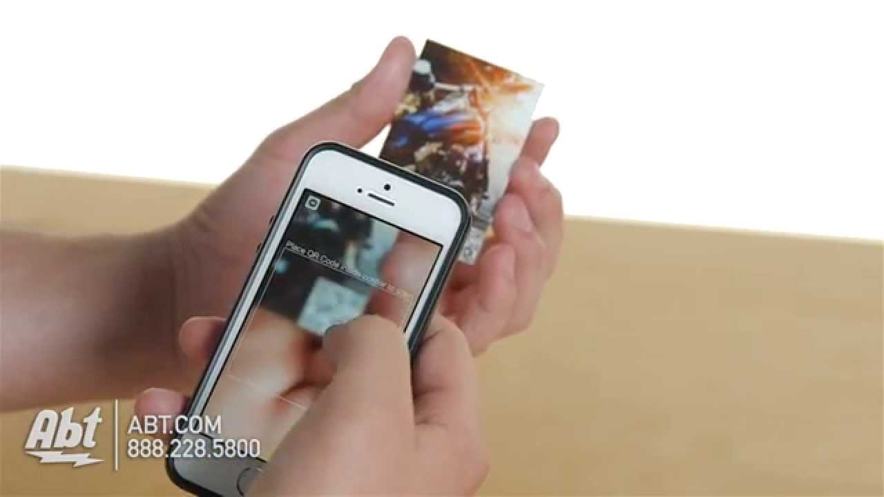 Polaroid Zip Black Instant Photo Printer Polmp01b Overview Youtube