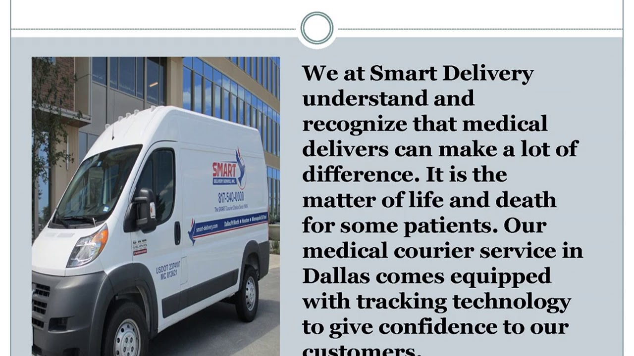 Courier service Dallas from Smart delivery Service