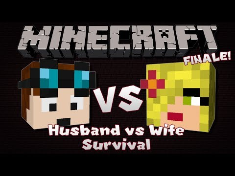 Minecraft | Husband VS Wife SURVIVAL | Episode 7 | THE FINALE!