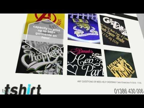 T Shirt Screen Printing UK