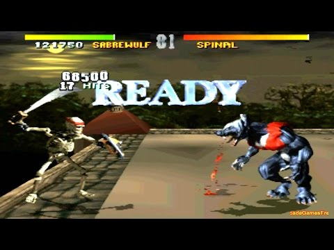 Killer Instinct 1 arcade Sabrewulf 60FPS Gameplay Playthrough
