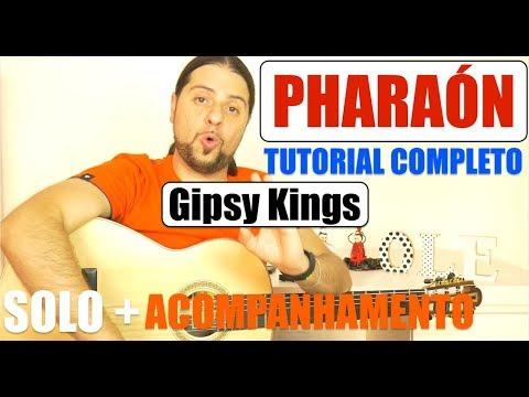 [TOTAL FLAMENCO] #PHARAON  - #TUTORIAL COMPLETO - GIPSY KINGS / Flavio Rodrigues
