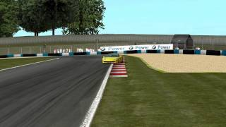 X-Motor Racing - Ferrari 458@Donington Park Gameplay