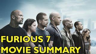 Movie Spoiler Alerts - Furious 7 (2015) Video Summary