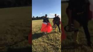 Anais Zanotti Skydiving in Miami 2017