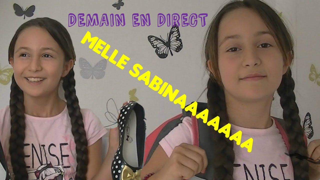 Aujourdhui Direct Avec Mademoiselle Sabina Xd Youtube