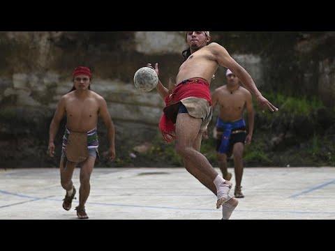 بالفيديو: لعبة الكرة القديمة لتعزيز الهوية الثقافية لشعوب المايا…  - 13:55-2021 / 6 / 23