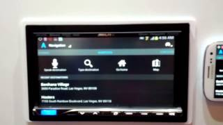 Alpine ICS-X7HD mirrors smartphone apps in your dashboard