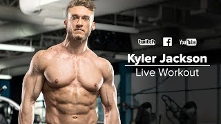 Kyler Jackson's Leg Day Workout | Live with Q&A