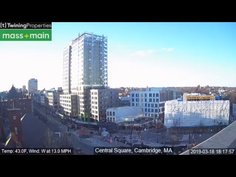IPTimelapse | Mass+ Main in Central Square - Twining Properties