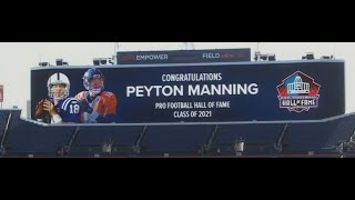 Peyton Manning Named To Hall Of Fame