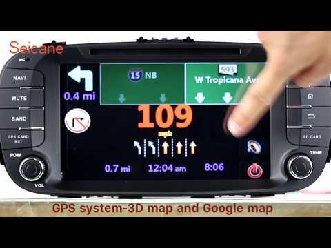 Android 7.1 2014 KIA SOUL Radio DVD GPS Navigation Player Support 3G 4G WIFI