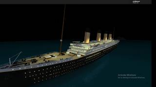 Roblox Titanic - Sinking Theme 2 ( Old )