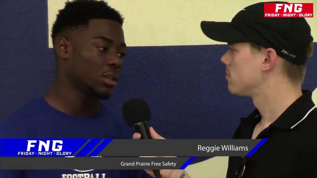 Grand Prairie High School Free Safety Reggie Williams 8 6 2016