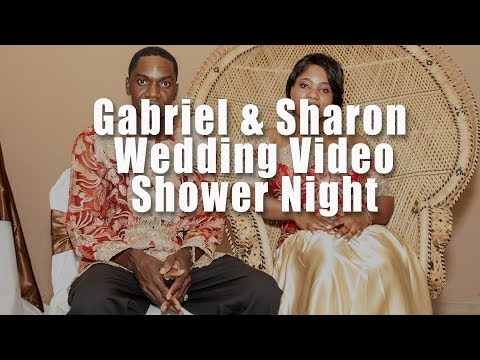 Gabriel and Sharon Wedding  2017 in Tucson Arizona Shower Night