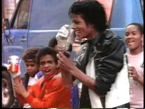 Classic Michael Jackson Pepsi Commercial (1984) (High Quality)