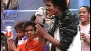 Classic Michael Jackson Pepsi Commercial (1984) (High Quality)
