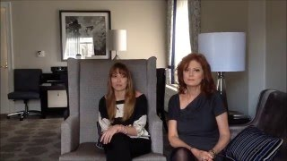 Susan Sarandon & Lorene Scafaria on The Meddler, Acting, & Porn