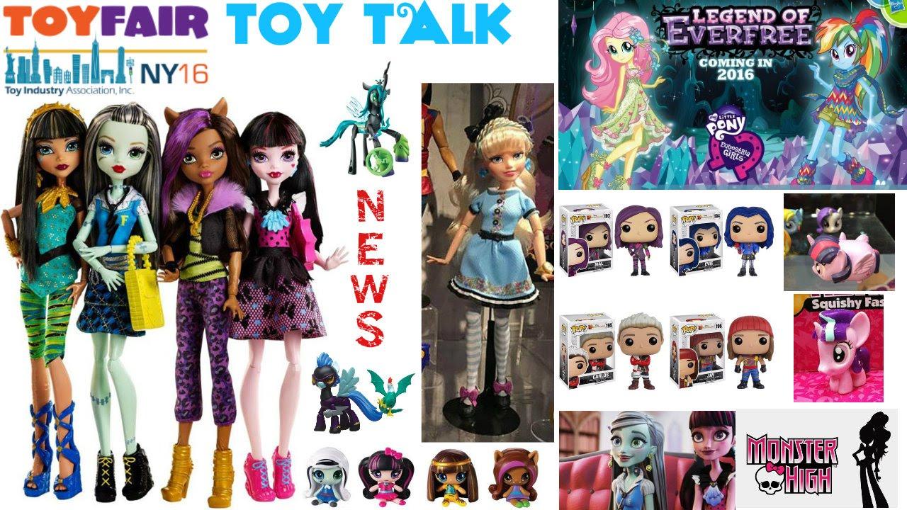 New York Toy Fair 2016 Monster High Barbie Mystery Minis