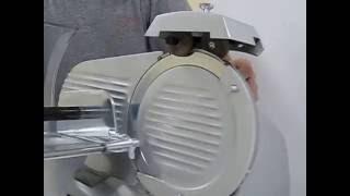 Come affilare la lama di un'affettatrice / How to sharpen the blade of a slicer