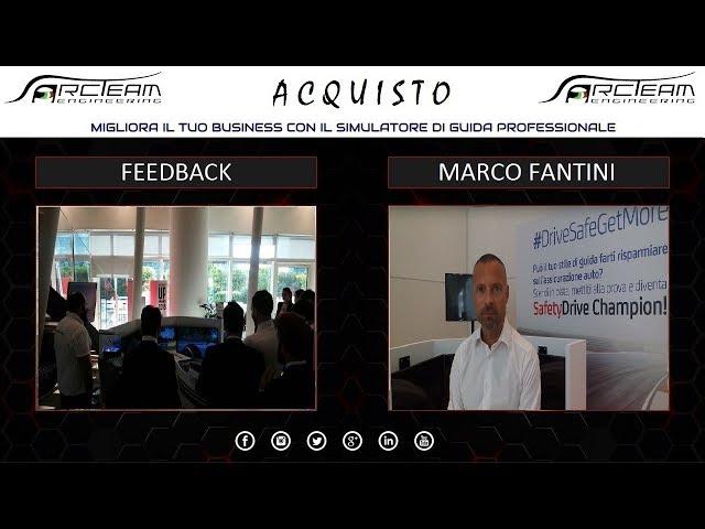 OPINIONE ACQUISTO SIMULATORE - MARCO FANTINI - DIREZIONE COMMERCIALE CREDITRAS