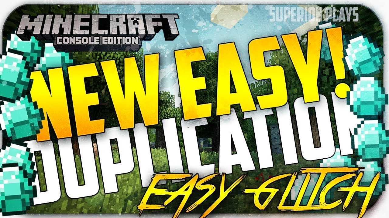 1 BEST WORKING DUPLICATION GLITCH After The NEW Patch In Minecraft! [1.14.4/1.15.2/1.16] (ANY ITEM)