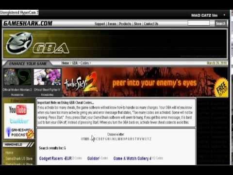 Gba Emulator Cheats