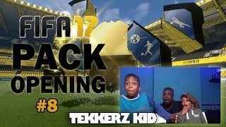 FIFA 17 PACK OPENING!! |TOTY | OMG!! FINALLY SOME LUCK!! | WEEK 8