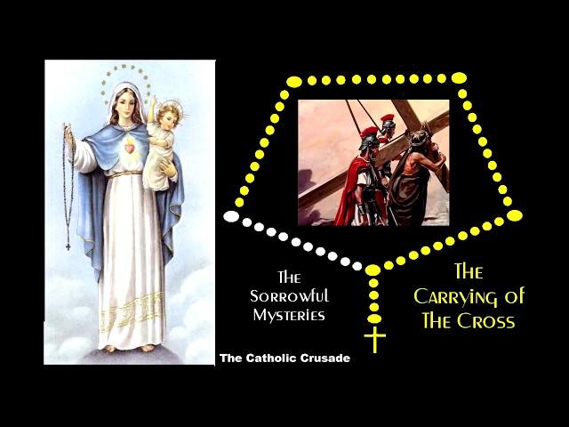 The Sorrowful Mysteries - VIRTUAL ROSARY - (Tuesdays & Fridays)
