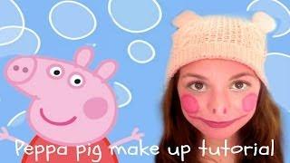 Peppa Pig Face Painting Tutorial