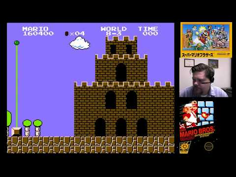 NES Classic - Super Mario Bros. (part 5) | VGHI Play 'n' Chat Live Stream