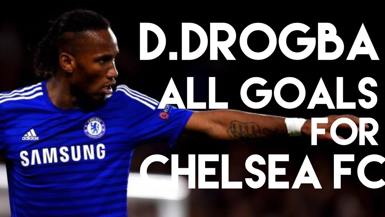 df95026f1 Chelsea Legend ❤ Didier Drogba all goals for Chelsea FC - The Blues TV -  YouTube