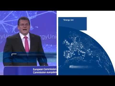 European Energy Union - Maroš Šefčovič