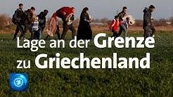 Türkisch-griechische Grenze: Live zur Lage vor Ort