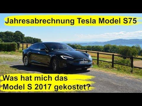 #61 Abrechnung Tesla Model S75: Das hat mein Tesla wirklich gekostet