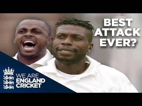 Windies 2000 - Best Bowling Attack Ever? | England v West Indies Lord's 2000 - Highlights